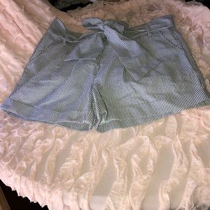 BNWT Lauren James Co. Bow Shorts